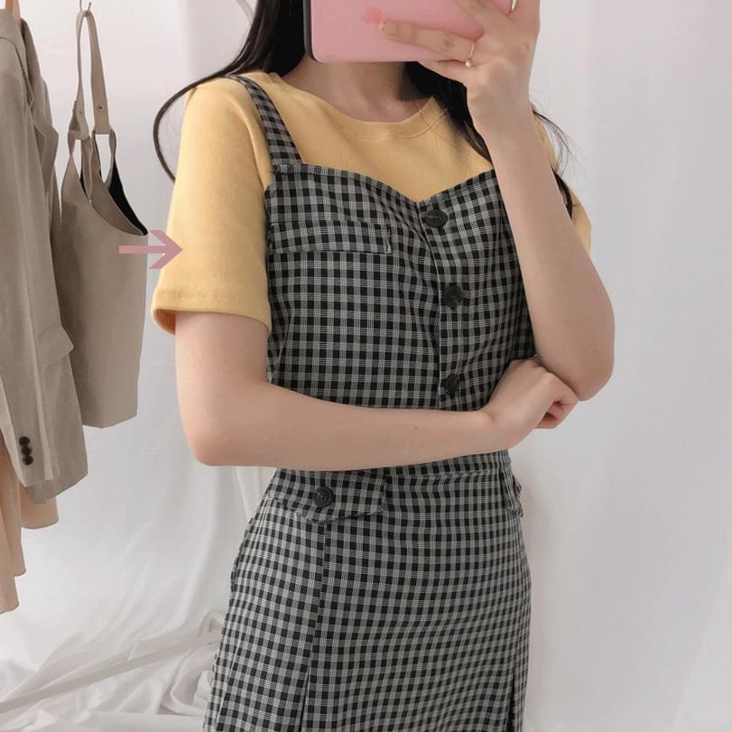 韓國空運 - Peach Flick Short Sleeve T-Shirt 短袖上衣