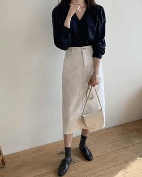 Store cotton long skirt 裙子