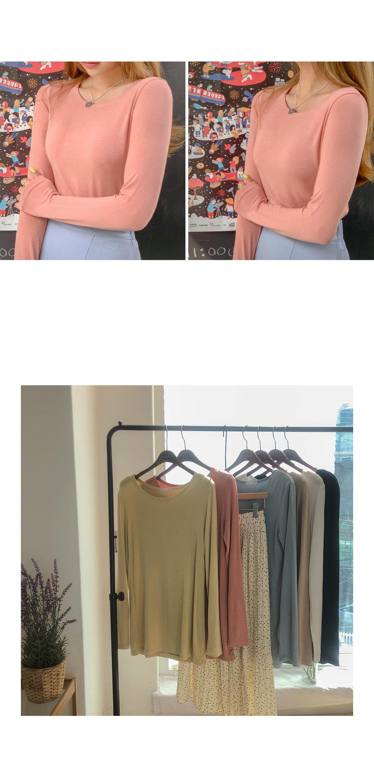 Tencel Moss Modal T-shirt