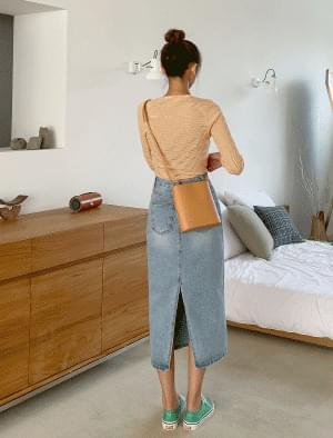 Rounding Square Shape Cross Bag Shoulder Bags