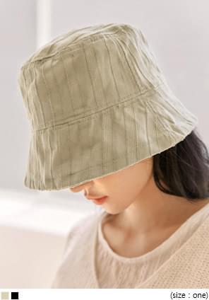 VINTAGE STRIPE BUCKET HAT