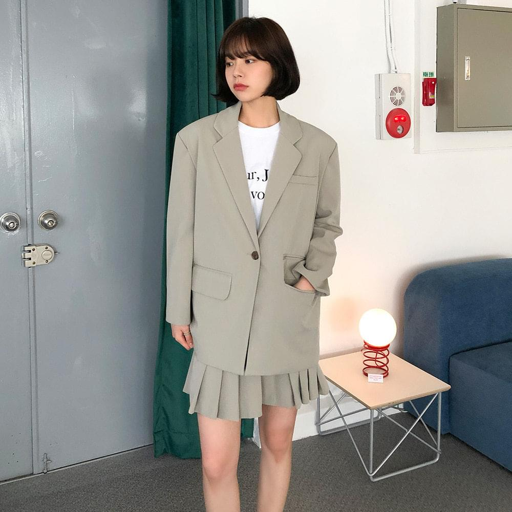 Post overfit jacket ジャケット