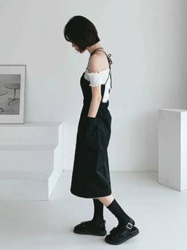 Pocket mammal midi dress