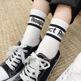 1 + 1 Reflective socks 靴下