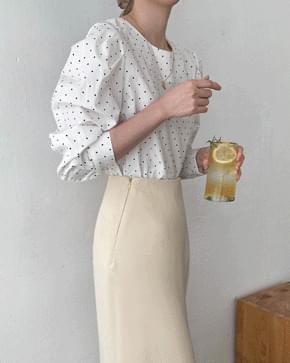 Lara dot blouse 襯衫
