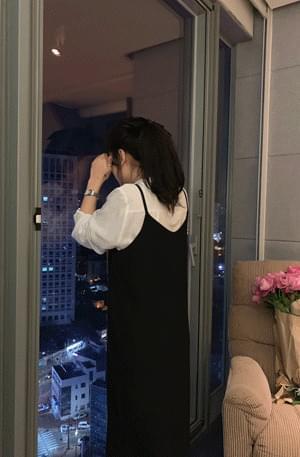 Nighting Slit Long Dress 洋裝