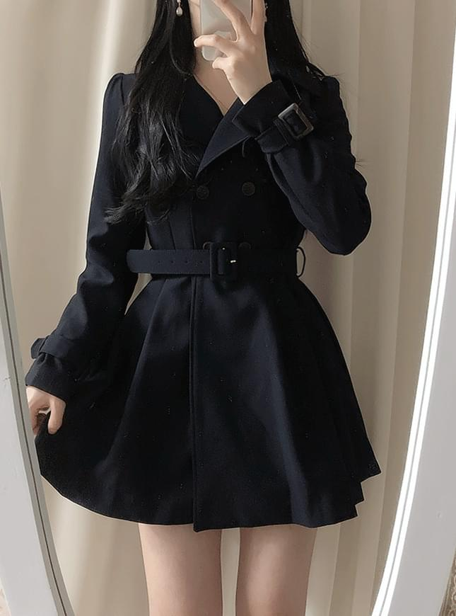 Lorin Short Trench Coat coat