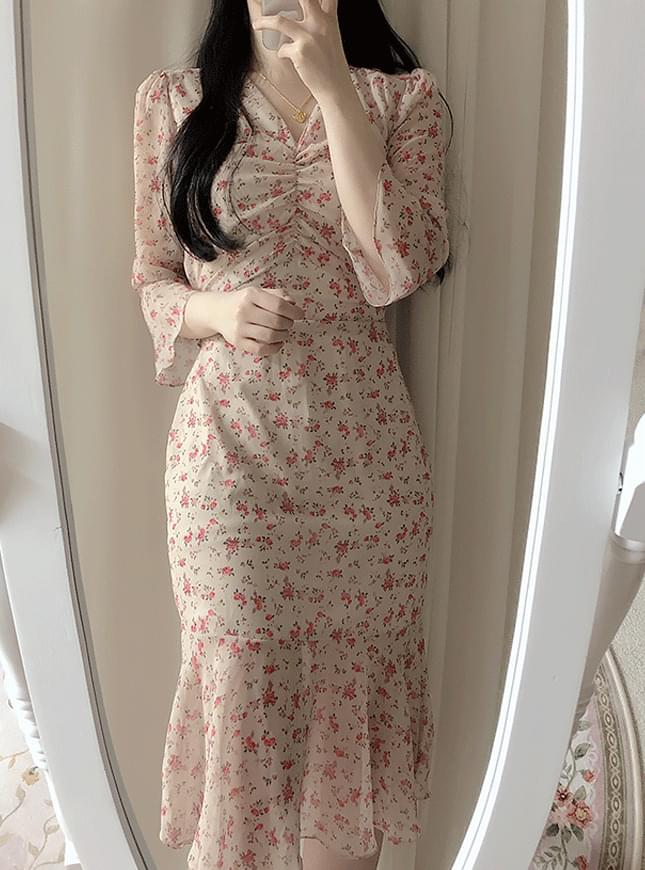 ♥ Lilac Mermaid Long Dress dresses