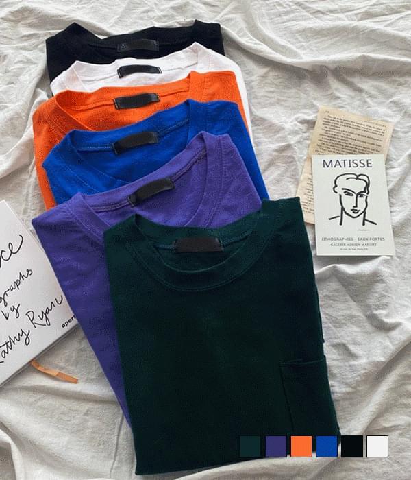 Big Pocket Overfit Short Sleeve T-Shirt