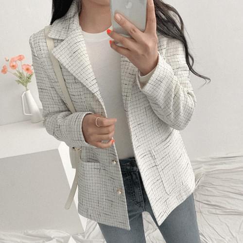 Kiki tweed jacket jacket