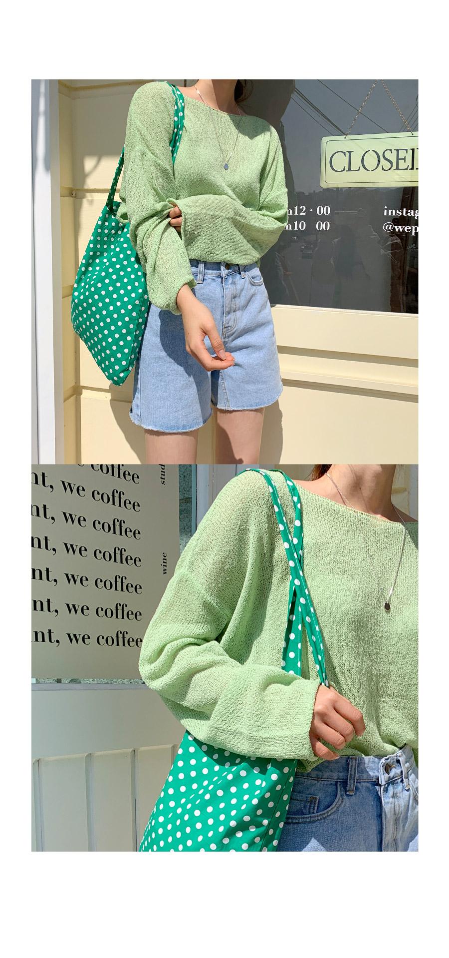 Dot Peak Eco Bag