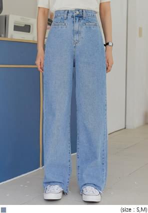 PUTTY WIDE LONG DENIM PANTS デニムパンツ