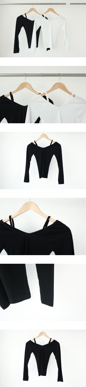 ココリブオフショルダーTシャツ (t0887)