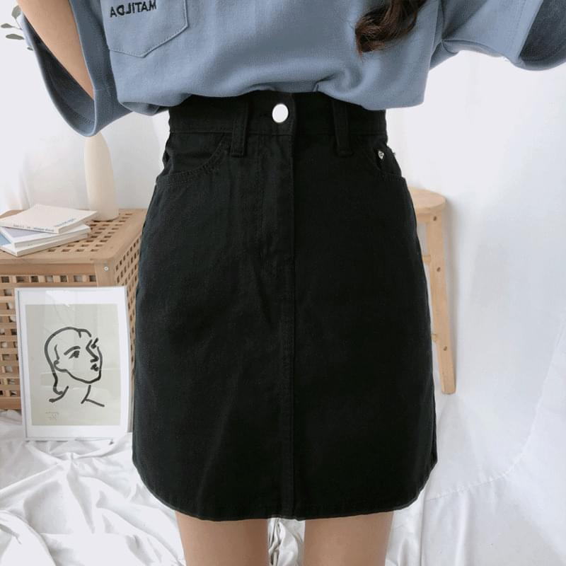 1101 A cotton skirt スカート
