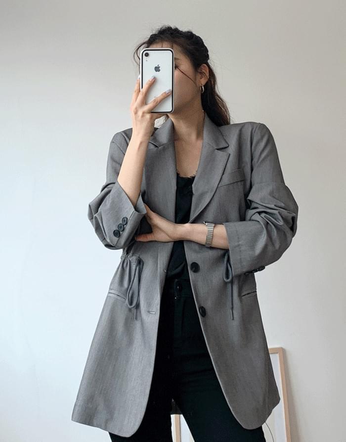Waist string jacket