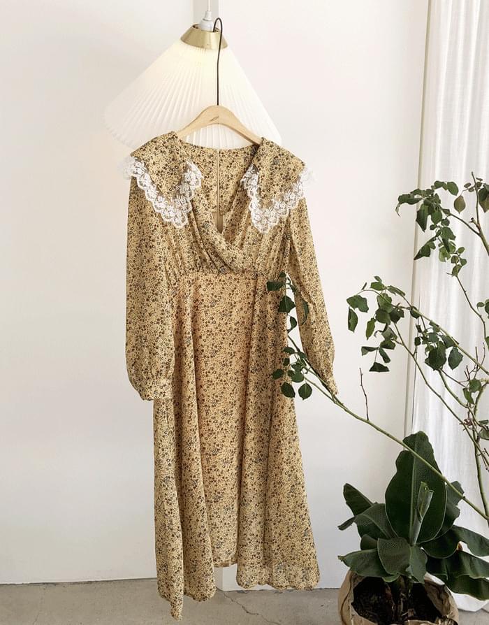 Cara Lace Flower Dress