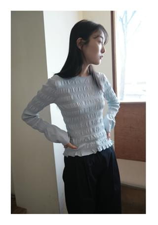 smocking tension top