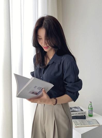볼린 셔츠 bl (*3color)