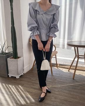 Cera frill blouse 襯衫