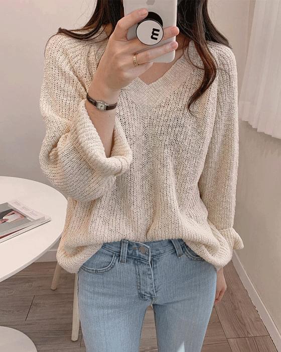 부클 v knit - 3color