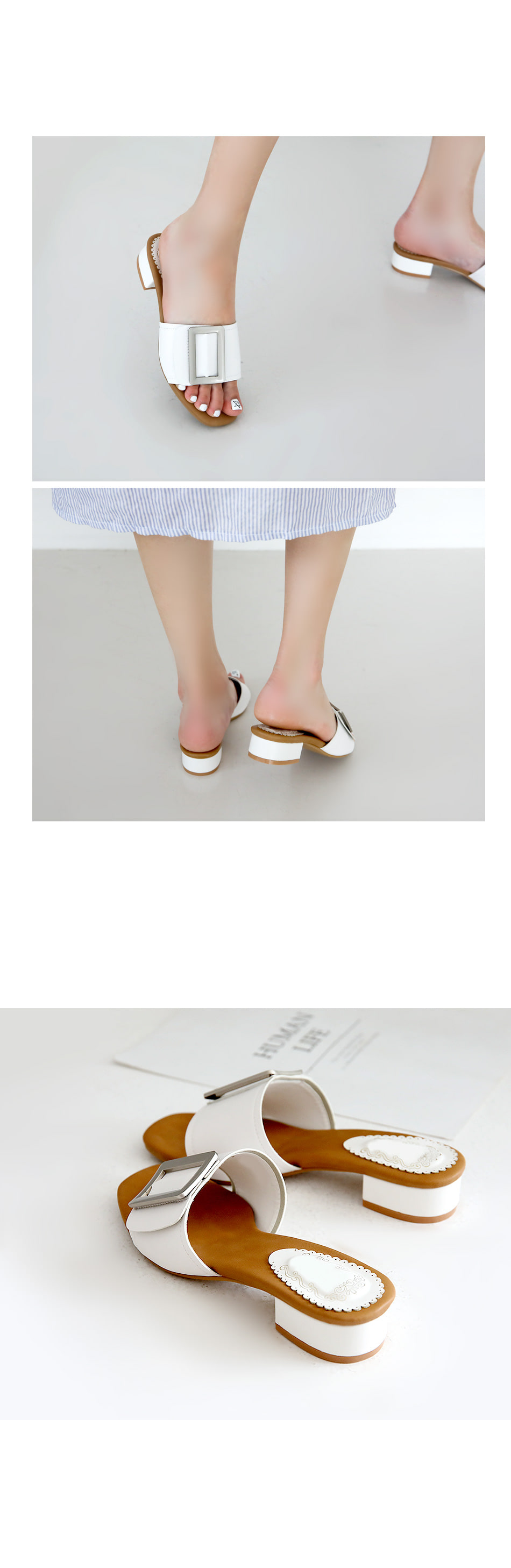 Zibel Ron Slippers 3cm