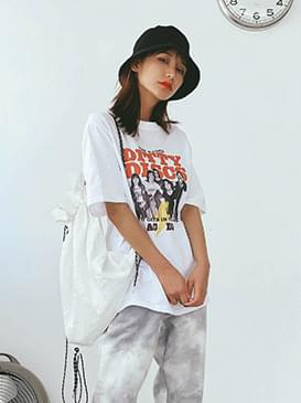 Loose Fit Irene Print T-shirt 半袖