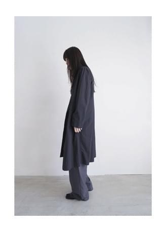 china collar neat coat コート
