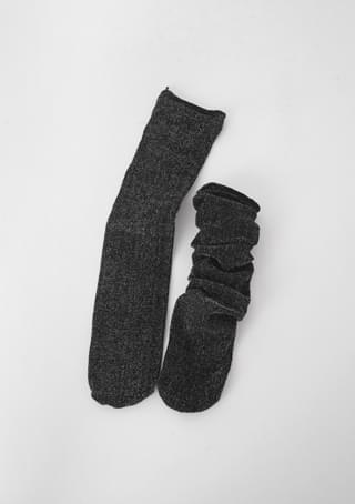rolling up basic socks
