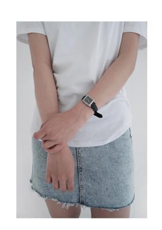 韓國空運 - square frame neat watch 手錶