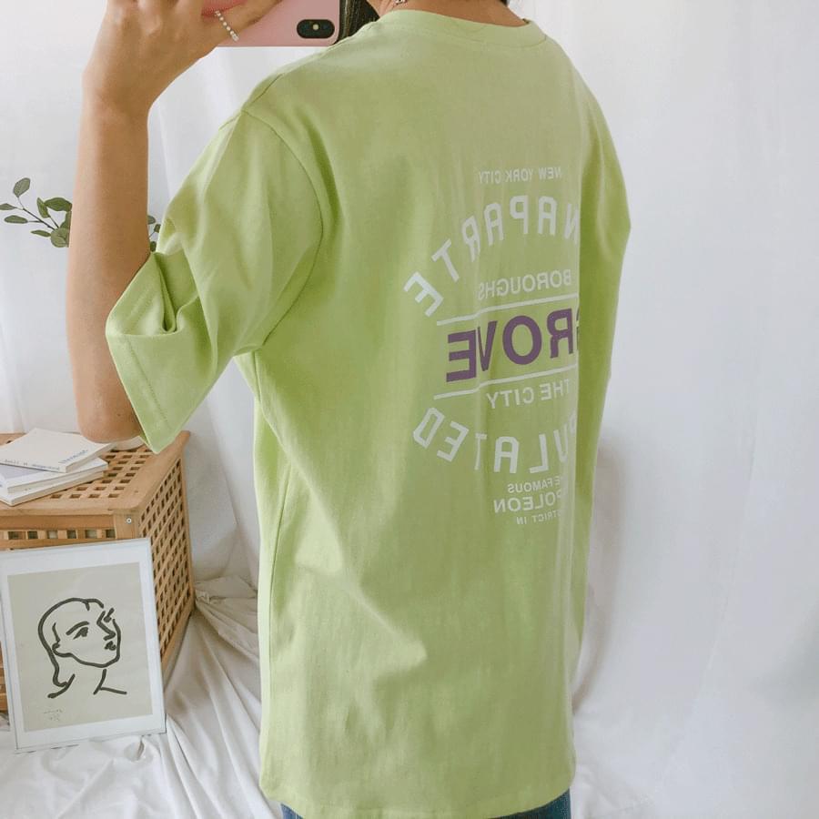 Grove short sleeve t-shirt 半袖