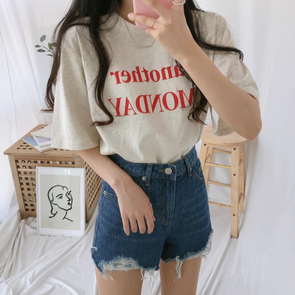 アナザーデイ半袖Tシャツ (t0905)