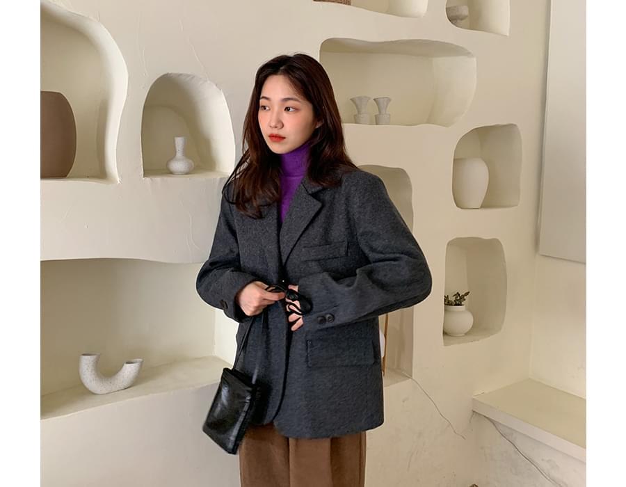 Tiff wool boxy jacket_A (울 70%) (size : free)