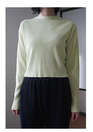 wearable pleats set - top 長袖