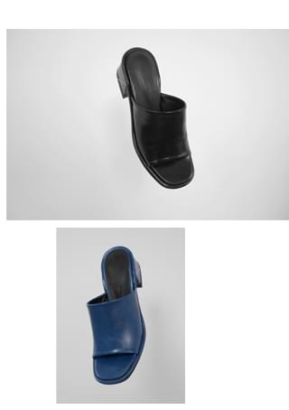 founder bold luster mule パンプス