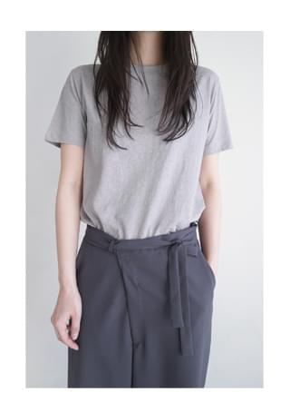 washing cotton clean top 半袖