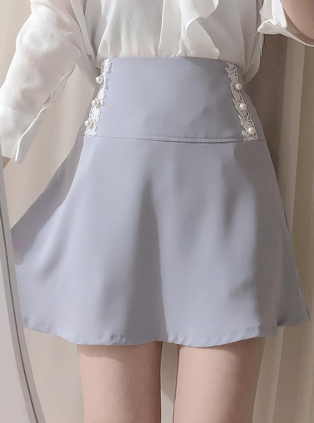 New Discount ♥ Eve Lace Pearl Skirt Pants skirt