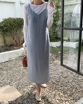 韓國空運 - Mag Bustier Long Dress -Pink, Cream, Rose Pink Same day delivery 長洋裝