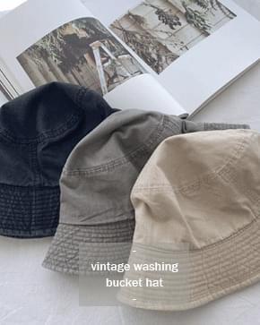 Vintage Faded bucket hat