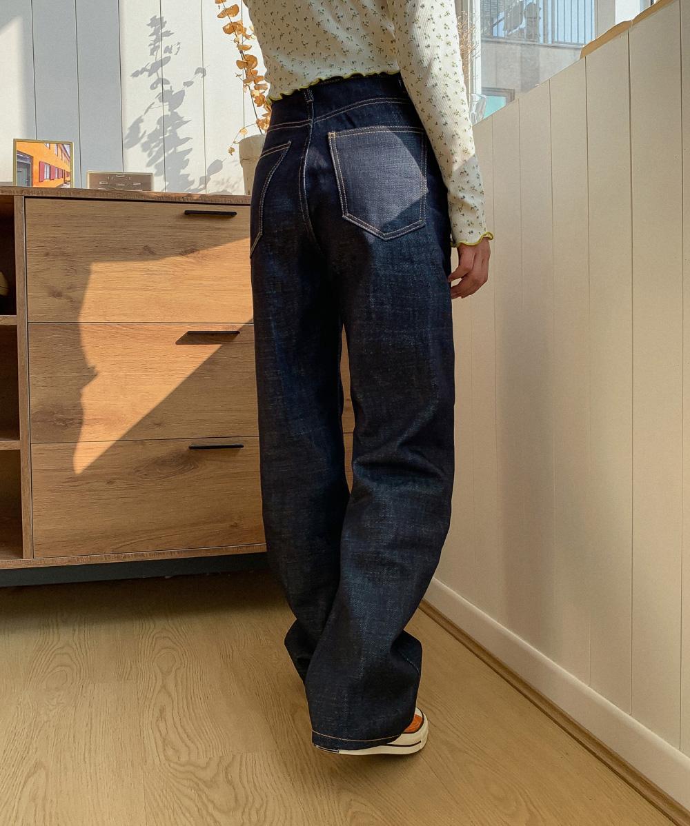 Straight Maxilong Dough Jeans