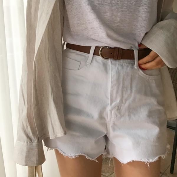Terry cotton short pants