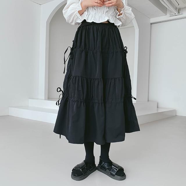 String Jude Long Skirt