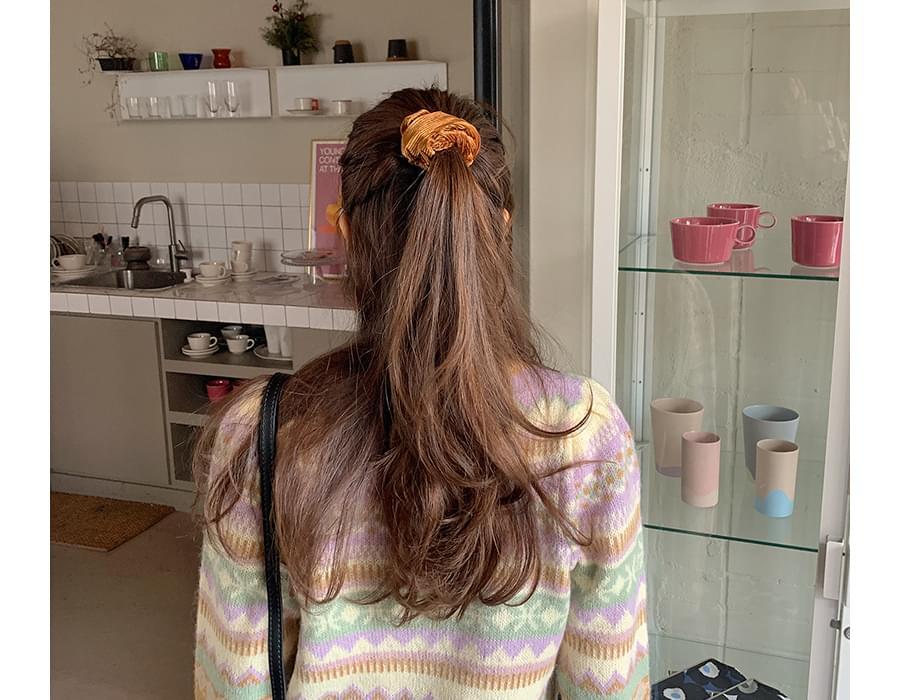 Fresh line hair string_U 配飾