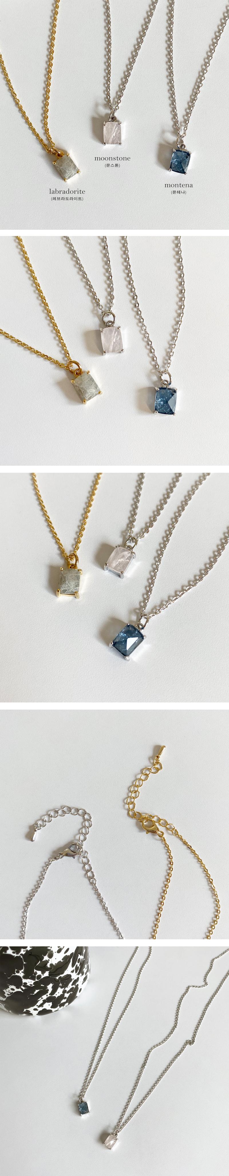native rock necklace