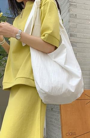 Minimalist tie bag 帆布包