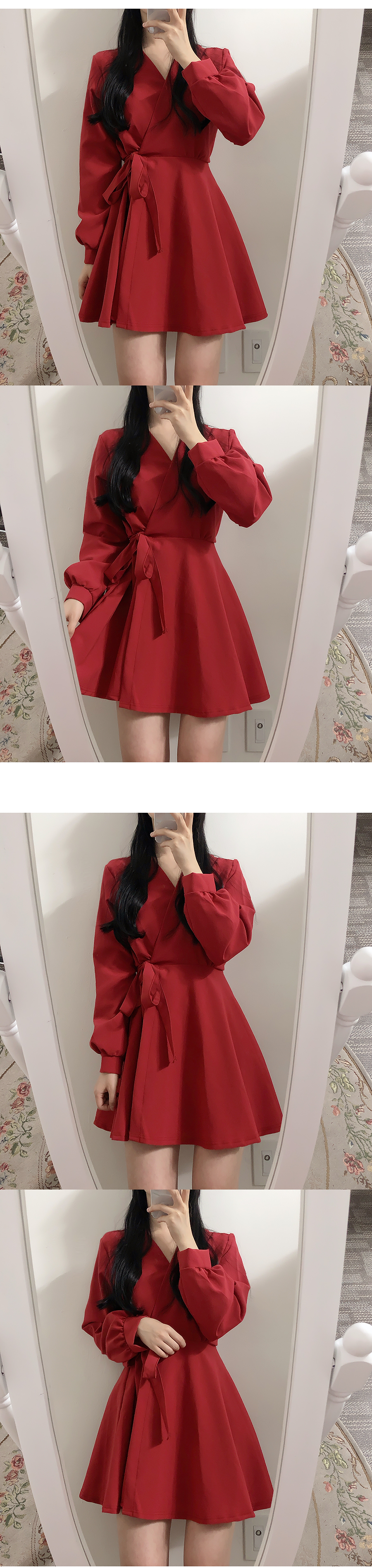 Same day delivery ♥ Soft wrap dress