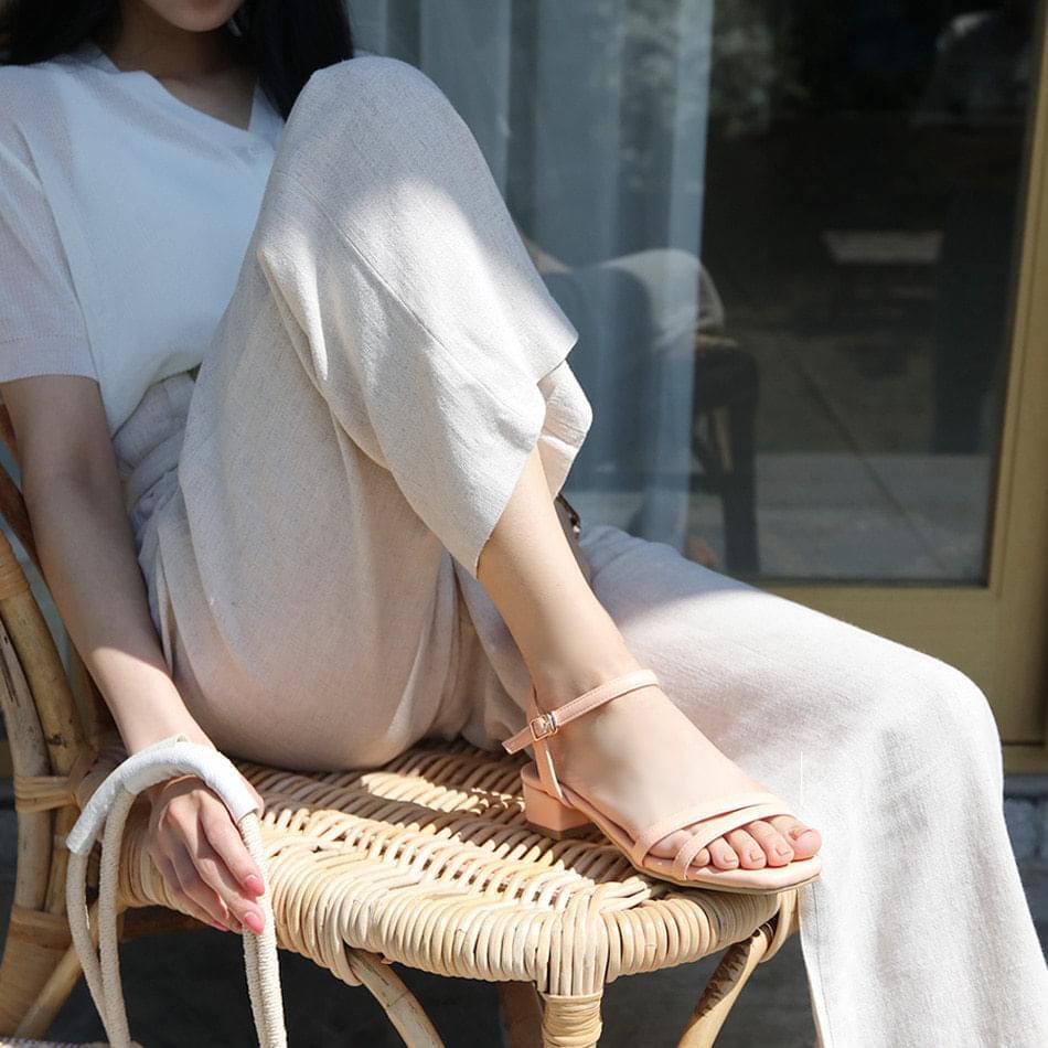 Reelven strap sandals 3,5,7cm