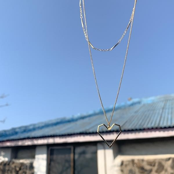 Forge layered necklace