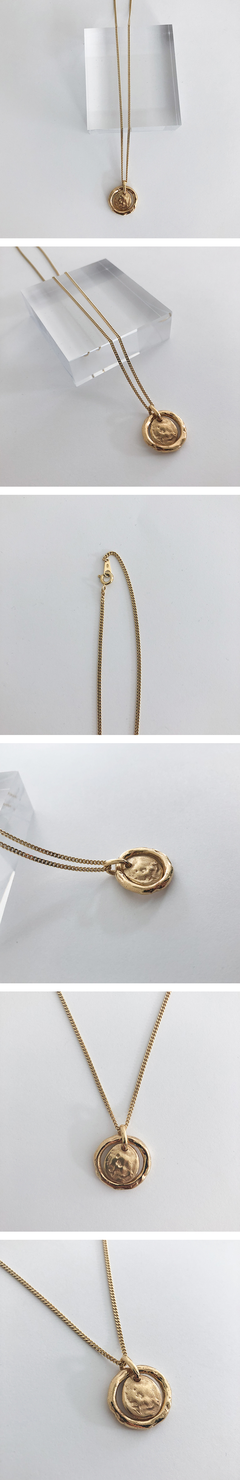 (silver925) gin necklace
