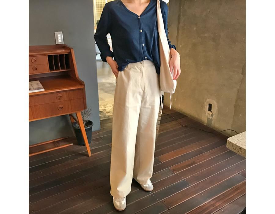 Mild summer linen cardigan_J (size : free)