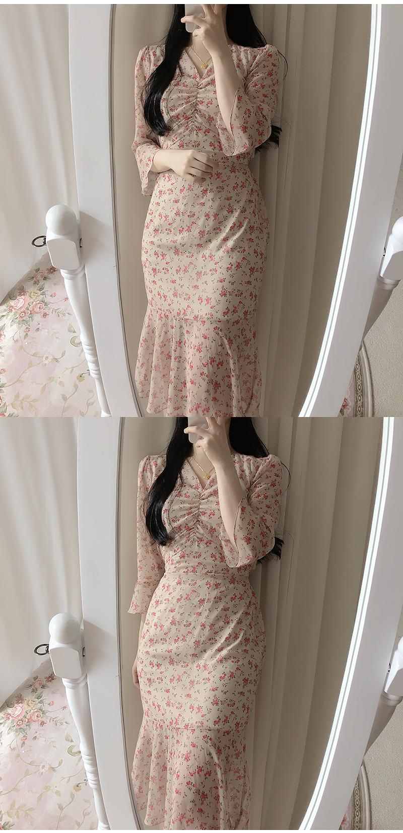 ♥ Lilac Mermaid Long Dress